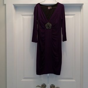Size 4 wine colored dress